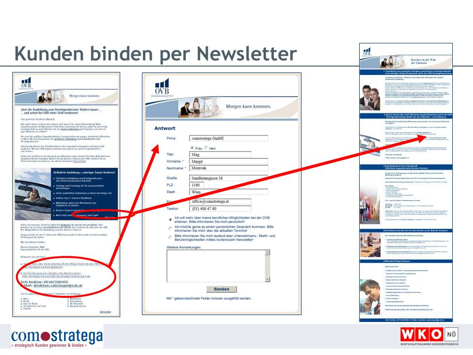 Kunden binden per Newsletter