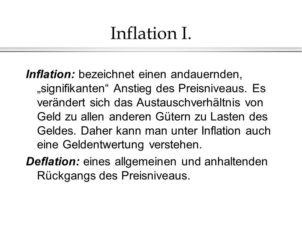 Inflation I.