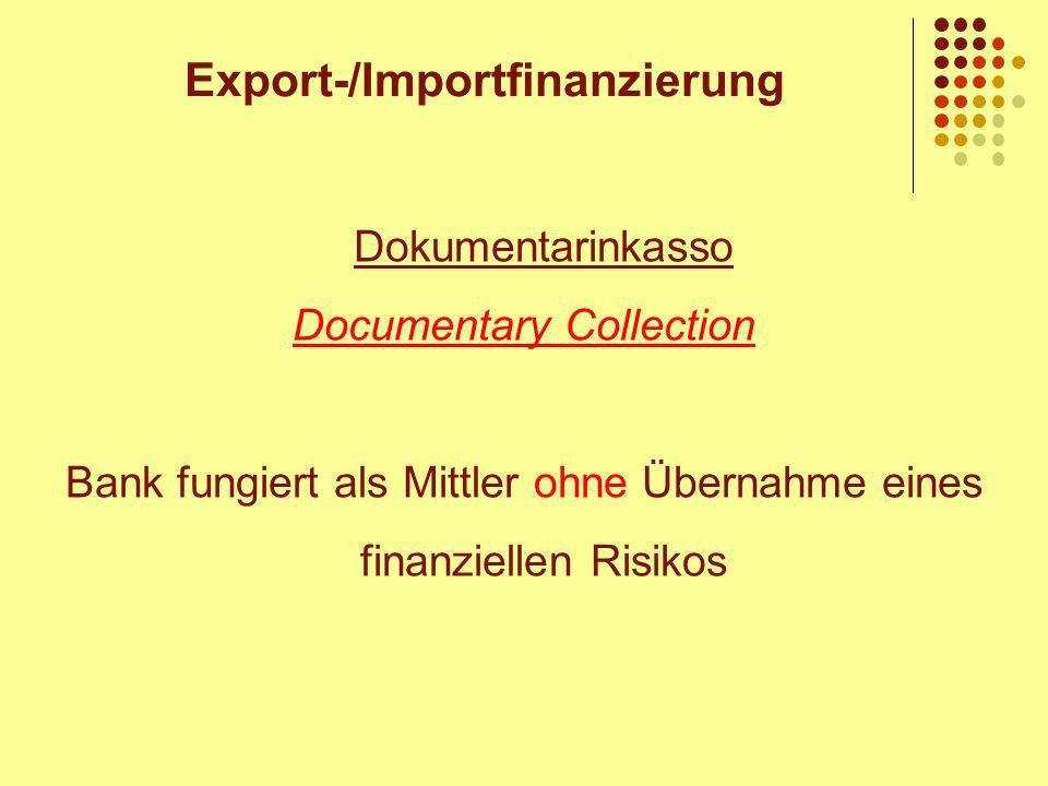 Export-/Importfinanzierung