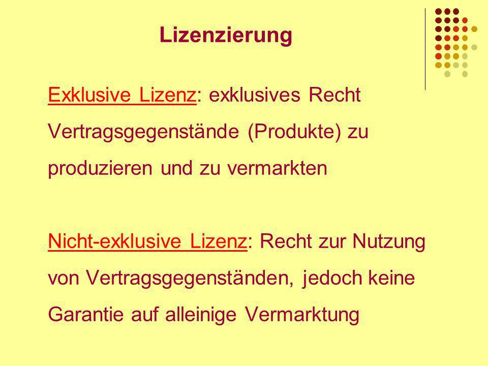 Lizenzierung