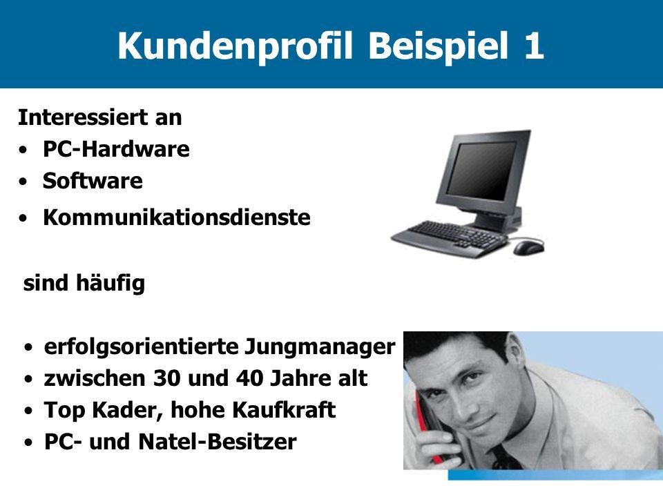Kundenprofil Beispiel 1
