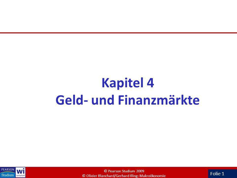 Kapitel 4 Geld- und Finanzmärkte