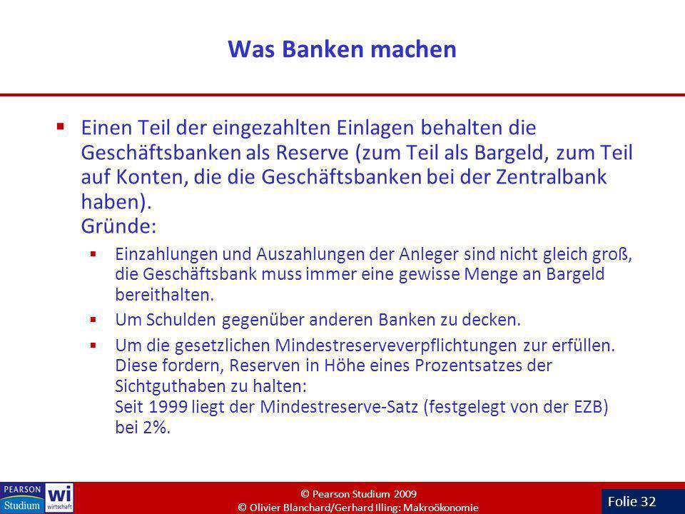 Was Banken machen