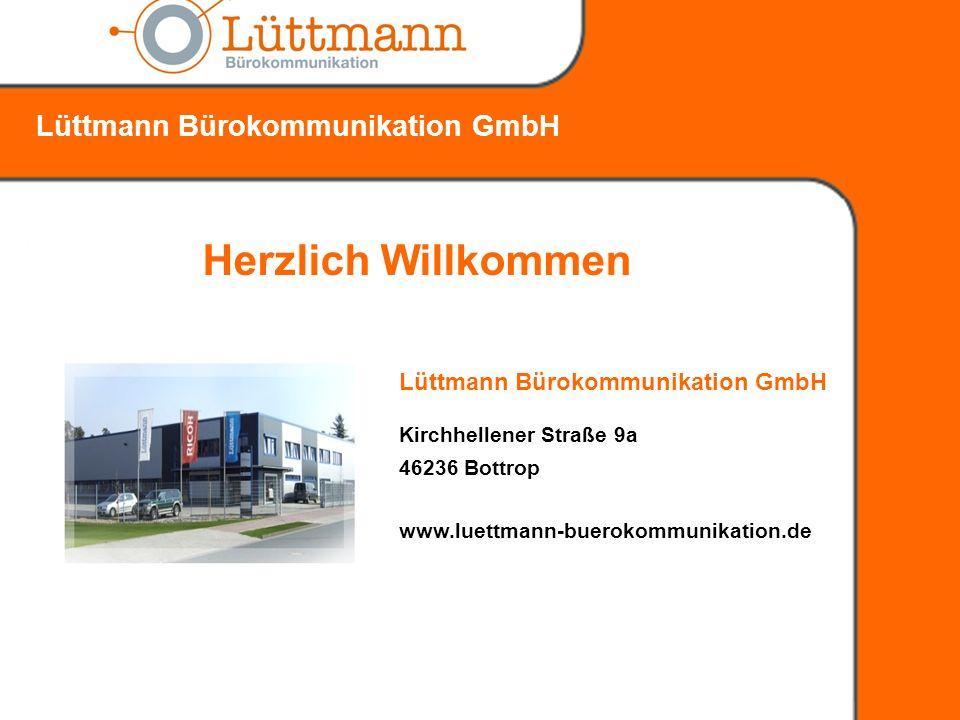 Herzlich Willkommen Lüttmann Bürokommunikation GmbH
