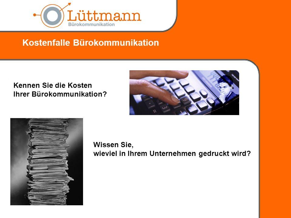 Kostenfalle Bürokommunikation