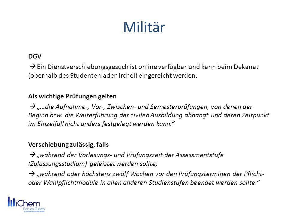 Militär DGV.