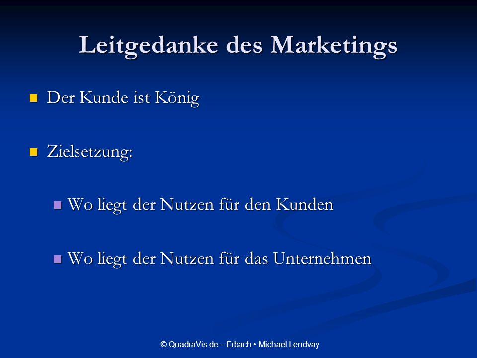 Leitgedanke des Marketings