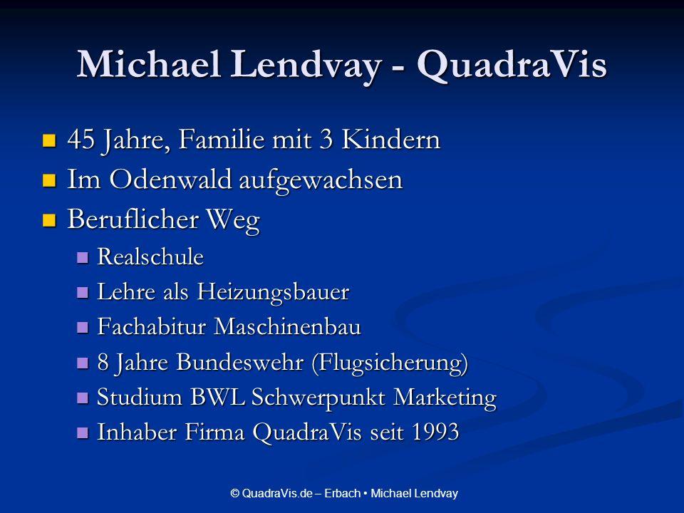 Michael Lendvay - QuadraVis