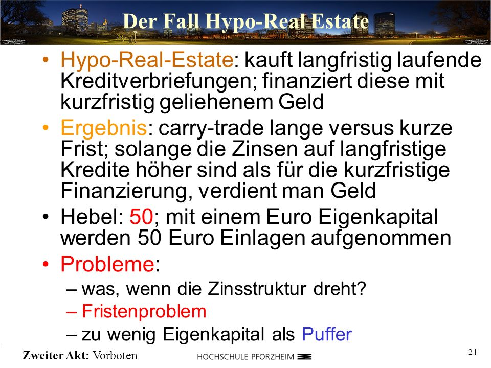 Der Fall Hypo-Real Estate