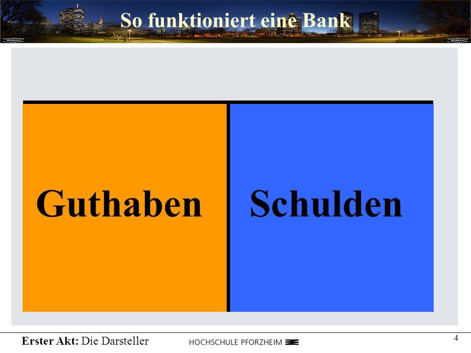 So funktioniert eine Bank