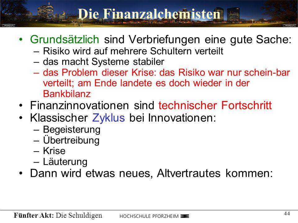 Die Finanzalchemisten