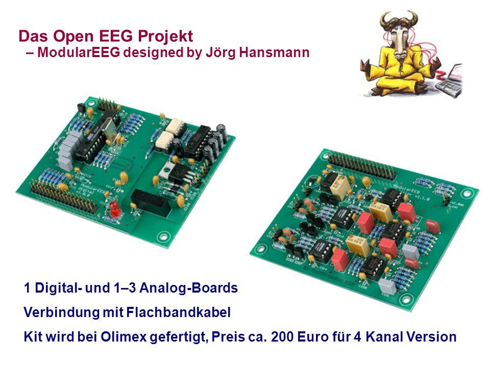 Das Open EEG Projekt – ModularEEG designed by Jörg Hansmann