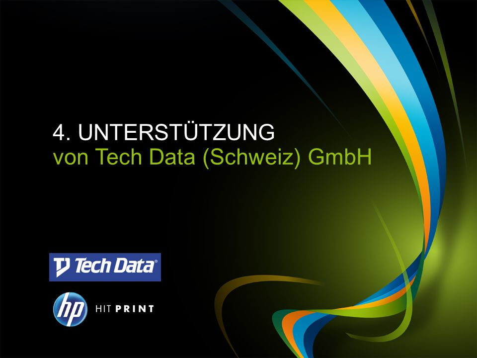 von Tech Data (Schweiz) GmbH