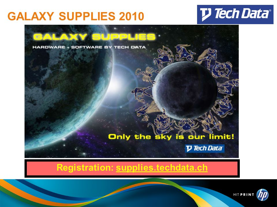 Registration: supplies.techdata.ch
