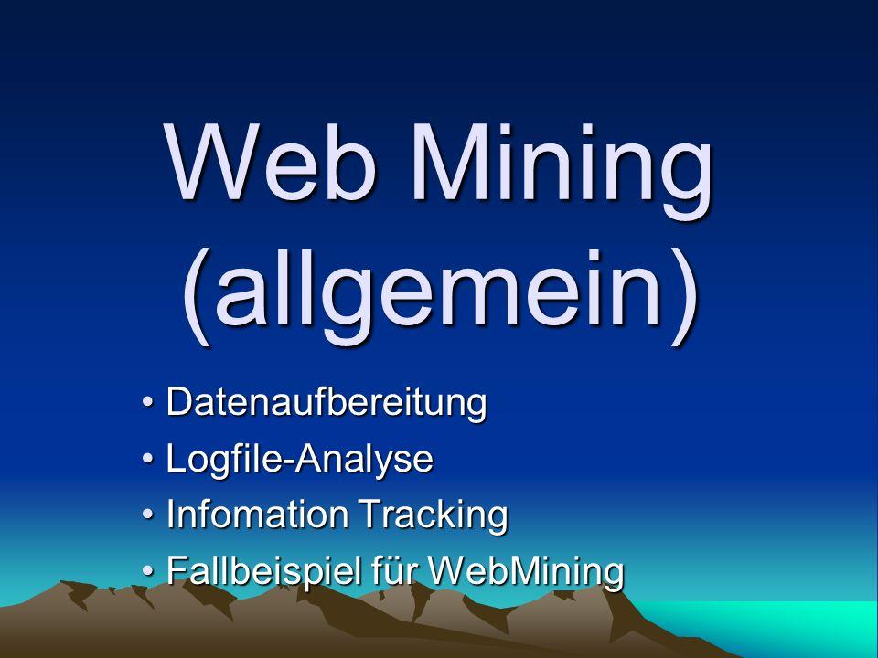Web Mining (allgemein)