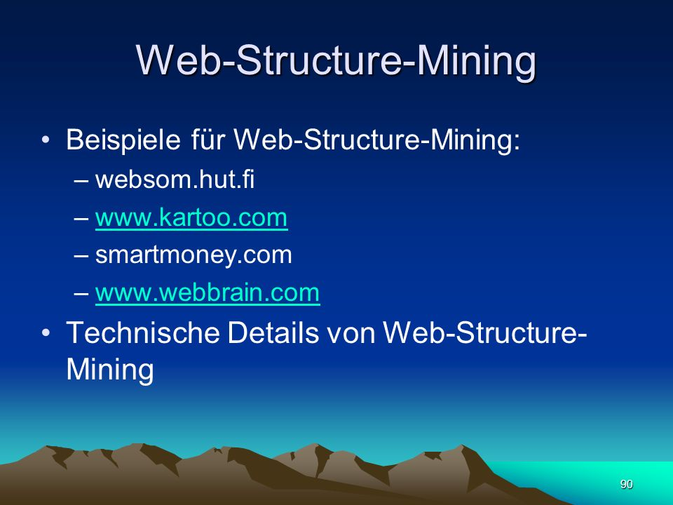 Web-Structure-Mining
