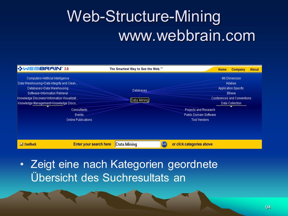 Web-Structure-Mining www.webbrain.com