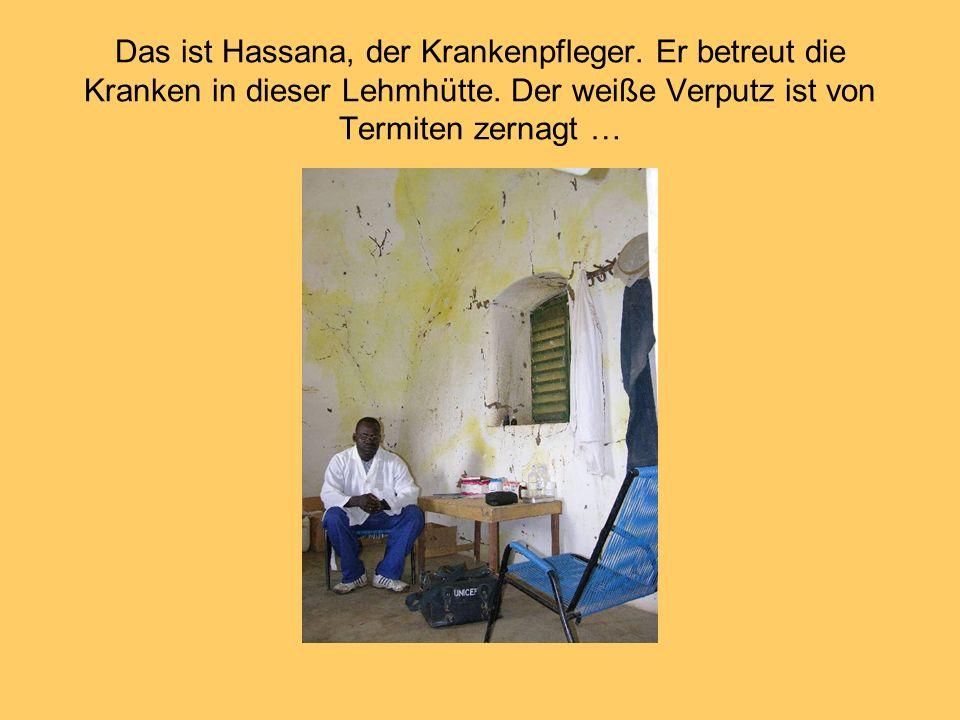 Das ist Hassana, der Krankenpfleger
