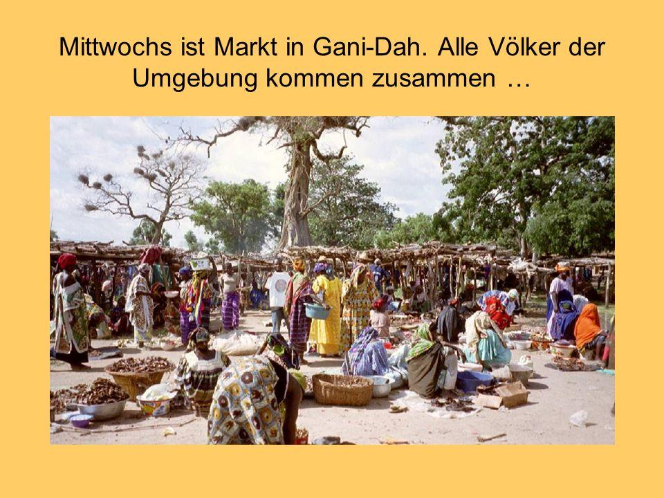 Mittwochs ist Markt in Gani-Dah