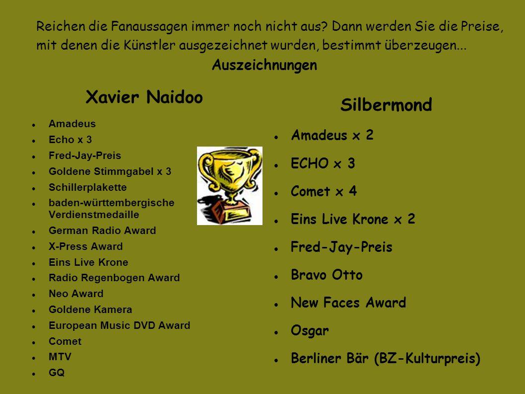 Xavier Naidoo Silbermond