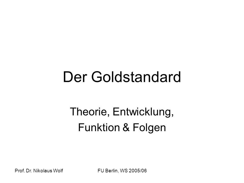 Theorie, Entwicklung, Funktion & Folgen