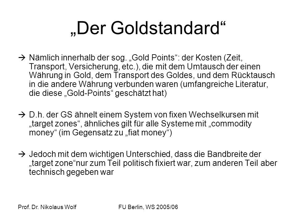 """""""Der Goldstandard"""