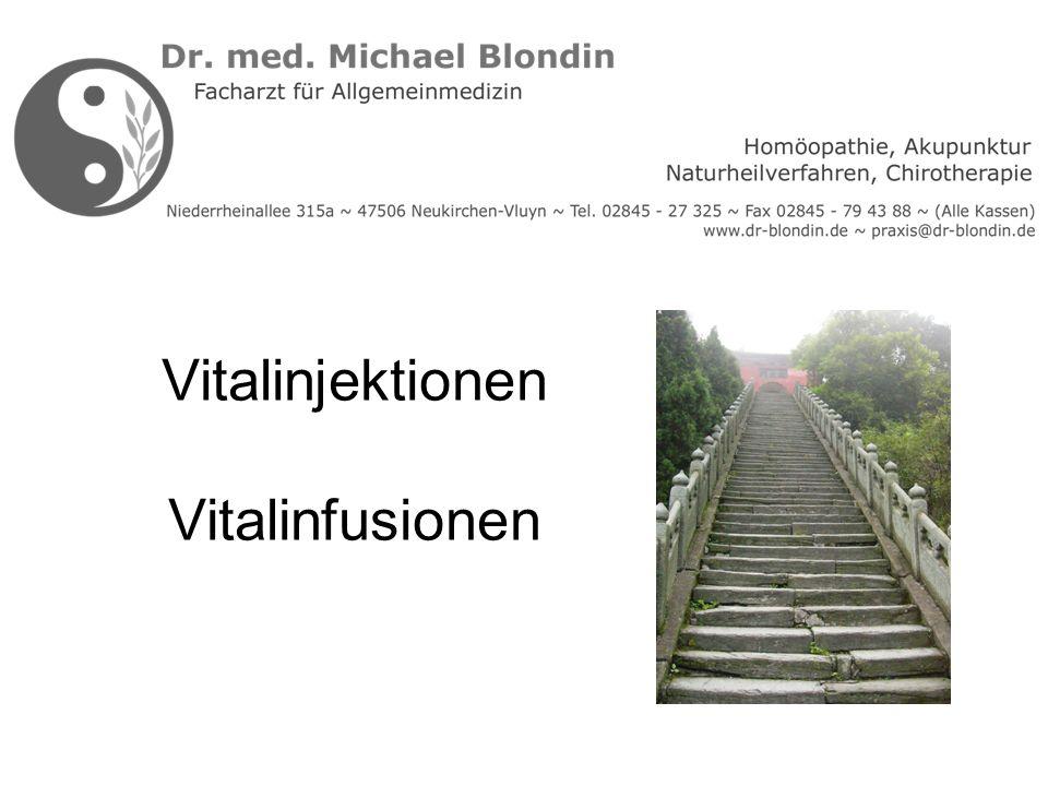 Vitalinjektionen Vitalinfusionen