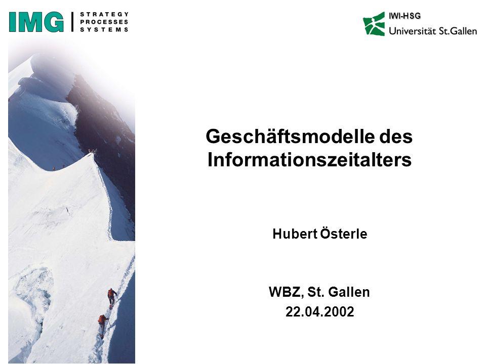 Geschäftsmodelle des Informationszeitalters
