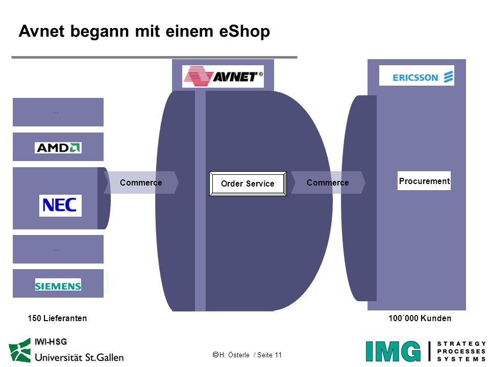 Avnet begann mit einem eShop