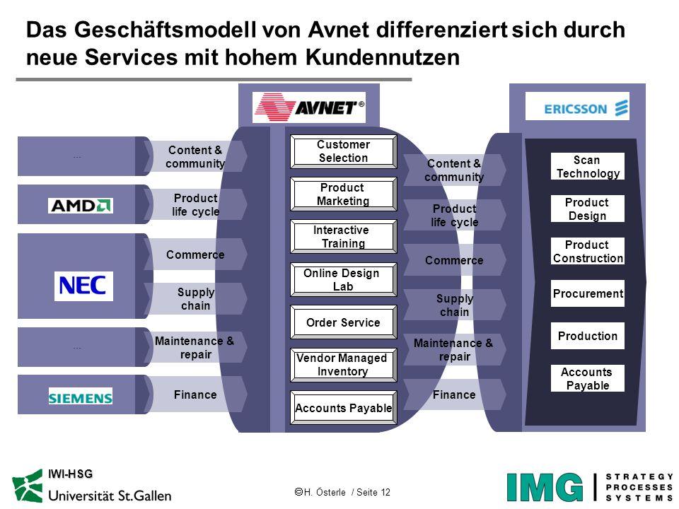 Das Geschäftsmodell von Avnet differenziert sich durch neue Services mit hohem Kundennutzen
