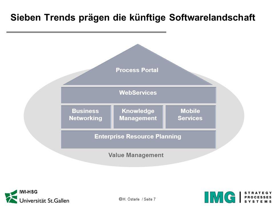 Sieben Trends prägen die künftige Softwarelandschaft