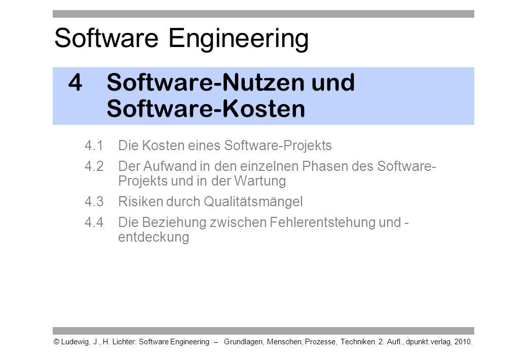 4 Software-Nutzen und Software-Kosten