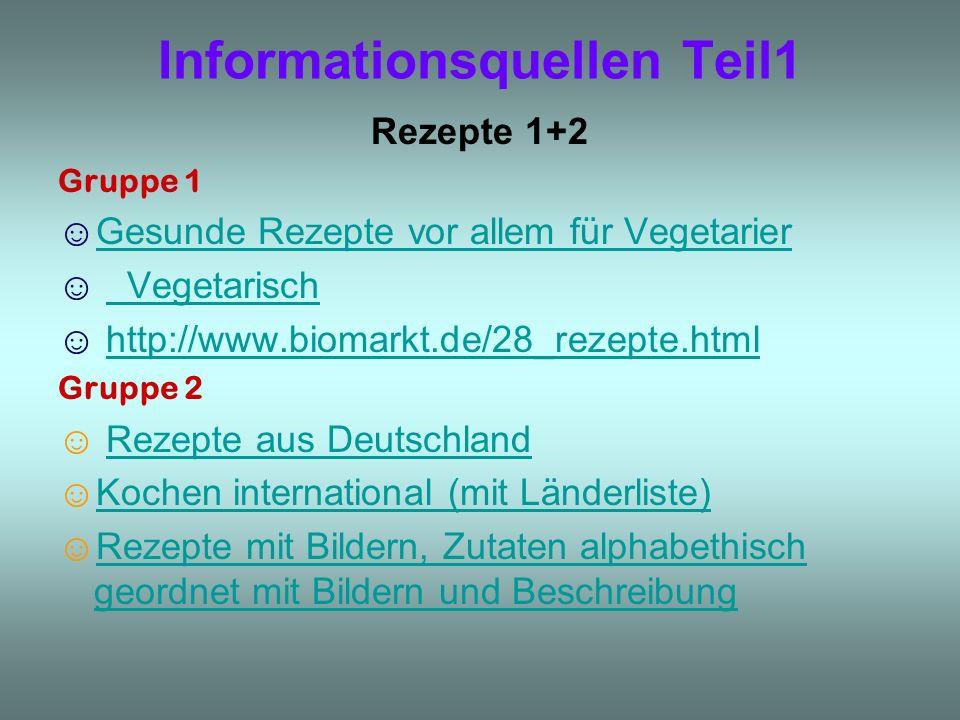 Informationsquellen Teil1