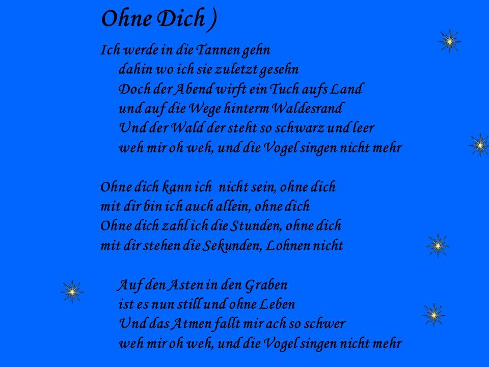 Ohne Dich )