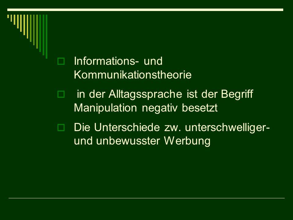 Informations- und Kommunikationstheorie