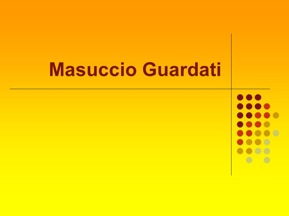 Masuccio Guardati