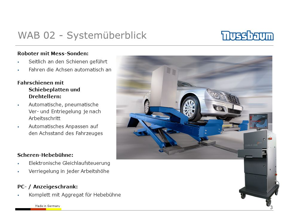 WAB 02 - Systemüberblick Roboter mit Mess-Sonden: