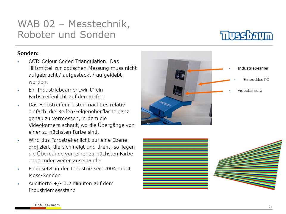 WAB 02 – Messtechnik, Roboter und Sonden