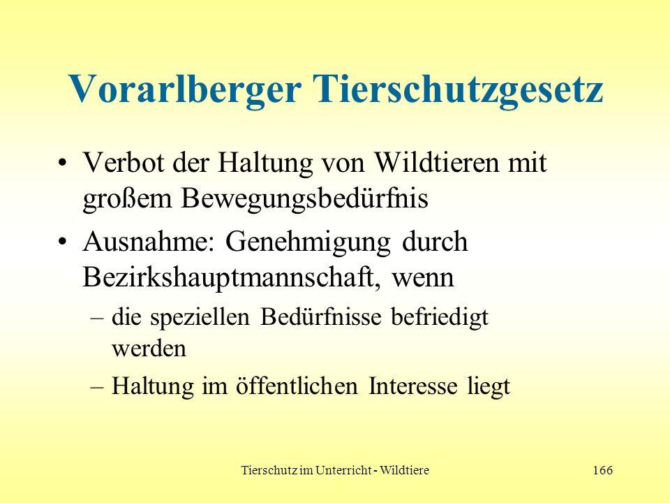 Vorarlberger Tierschutzgesetz