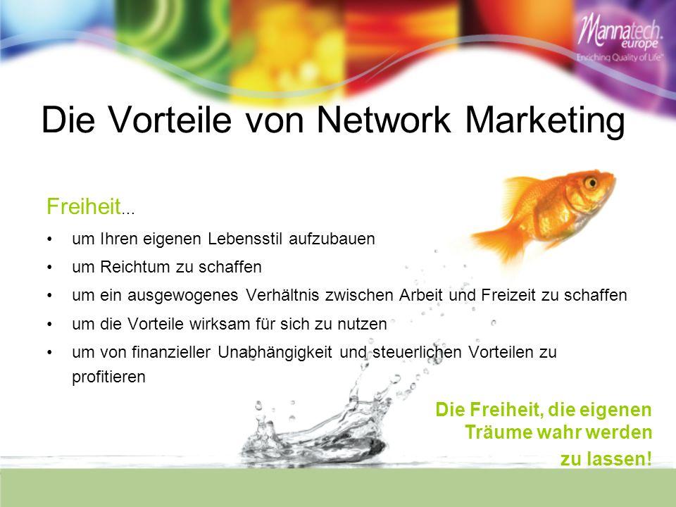 Die Vorteile von Network Marketing