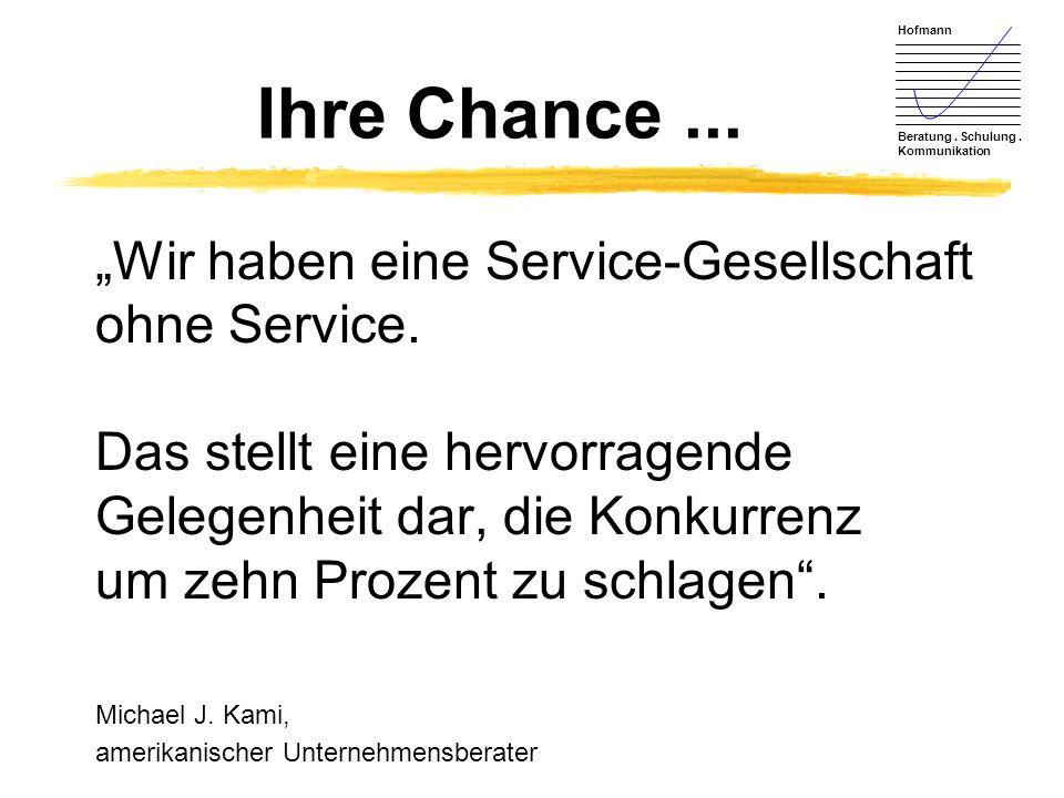 Ihre Chance ...