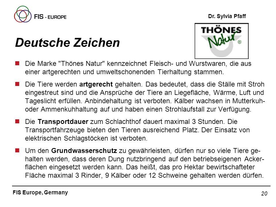 Deutsche Zeichen Die Marke Thönes Natur kennzeichnet Fleisch- und Wurstwaren, die aus einer artgerechten und umweltschonenden Tierhaltung stammen.