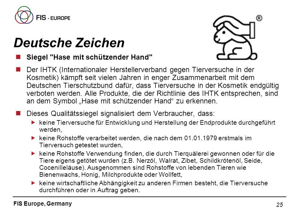 Deutsche Zeichen Siegel Hase mit schützender Hand