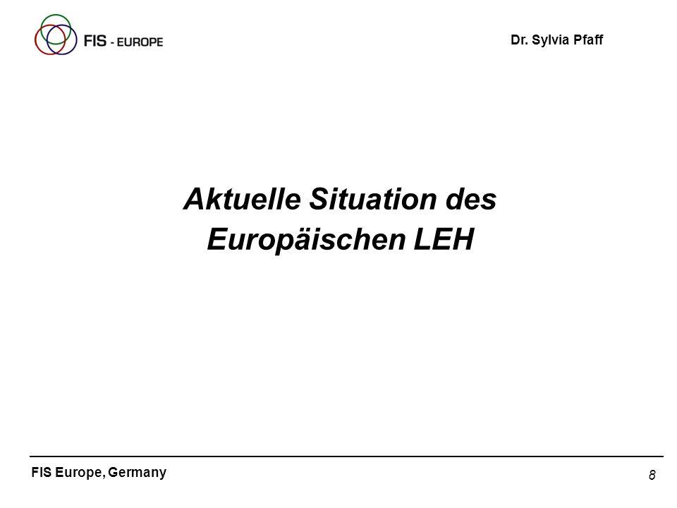 Aktuelle Situation des Europäischen LEH