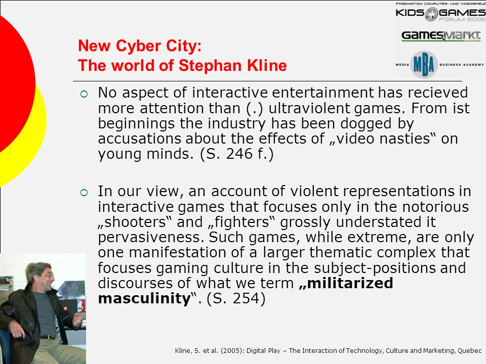 New Cyber City: The world of Stephan Kline