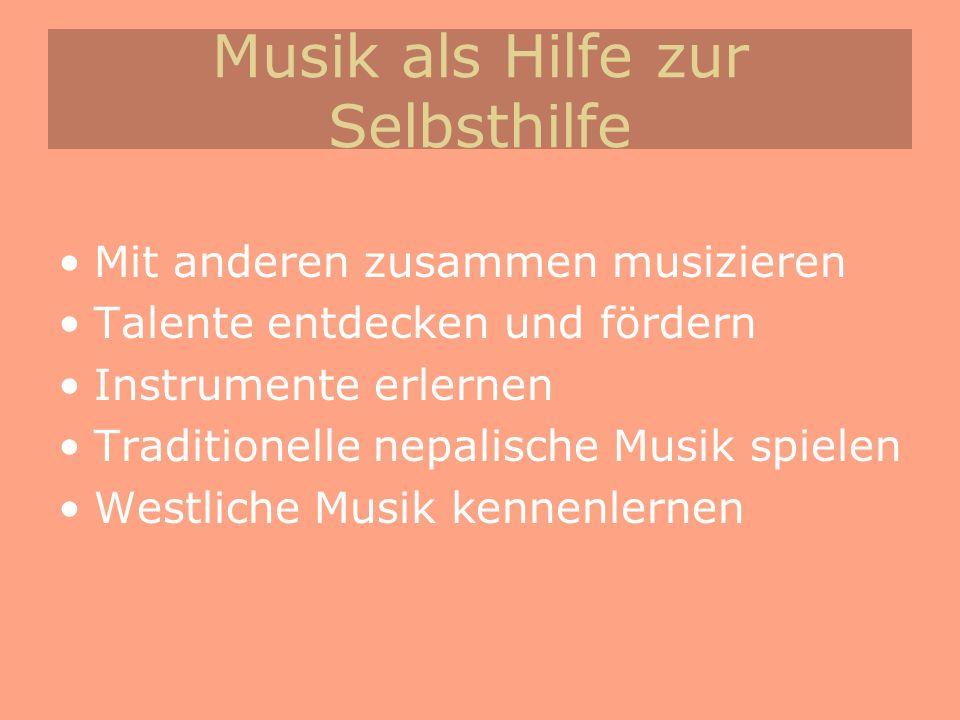 Musik als Hilfe zur Selbsthilfe