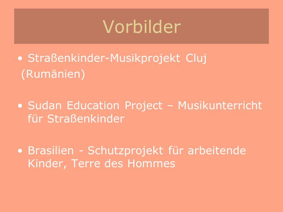 Vorbilder Straßenkinder-Musikprojekt Cluj (Rumänien)