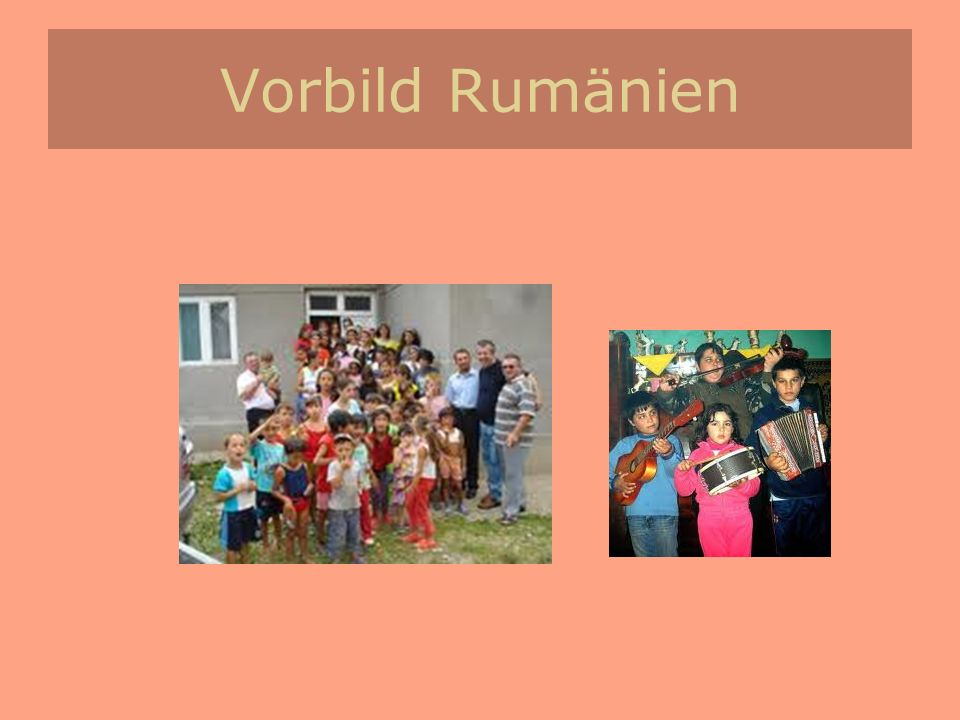 Vorbild Rumänien