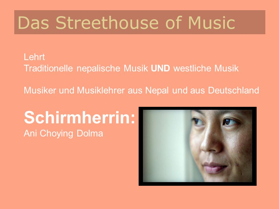 Das Streethouse of Music