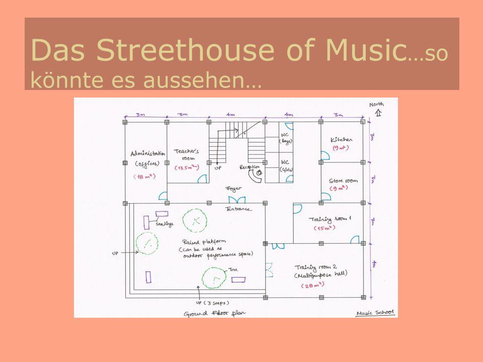 Das Streethouse of Music…so könnte es aussehen…